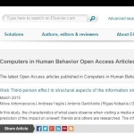 Computers in Human Behavior Open Access Articles